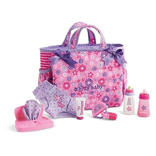アメリカンガールドールAmerican Girl Bitty Baby - Mommy's Diaper Bag Essentials for Bitty Baby Dolls - Bitty Baby 2017