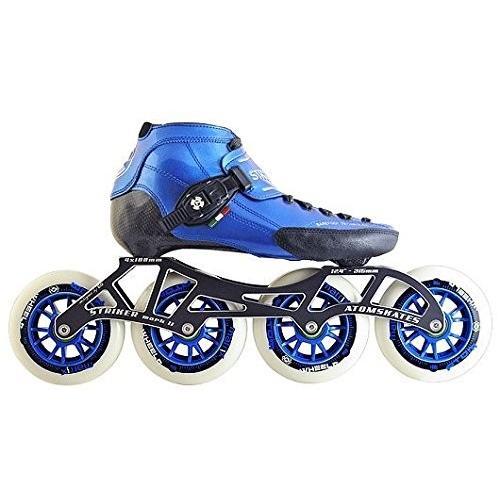 インラインスケートLuigino Strut Blue Boot, Striker 4x110 13.2