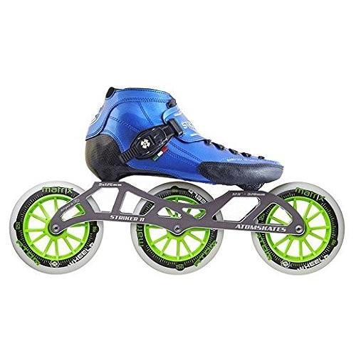 インラインスケートLuigino Strut Blue Boot, Striker 3x125 11.8