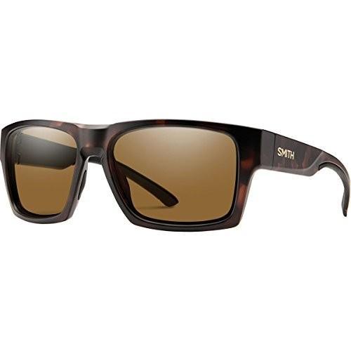 スミスSmith Outlier 2 XL ChromaPop Polarized Sunglasses, Matte Tortoise