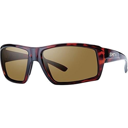 スミスSmith Optics Challis Sunglasses, Tortoise Frame, Polar 褐色 Techlite Glass Lenses