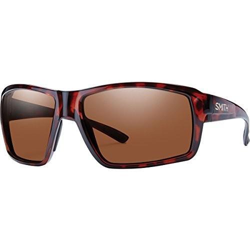 スミスSmith Optics Mens Colson Lifestyle Polarized Sunglasses - Tortoise/PC Copper