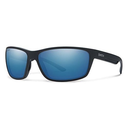 スミスSmith Optics Men's 赤mond Chroma Pop Polarized Sunglasses (青 Lens), Matte 黒