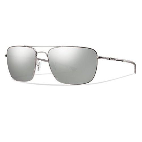 スミスSmith Optics Nomad Sunglasses,Matte 銀Platinum