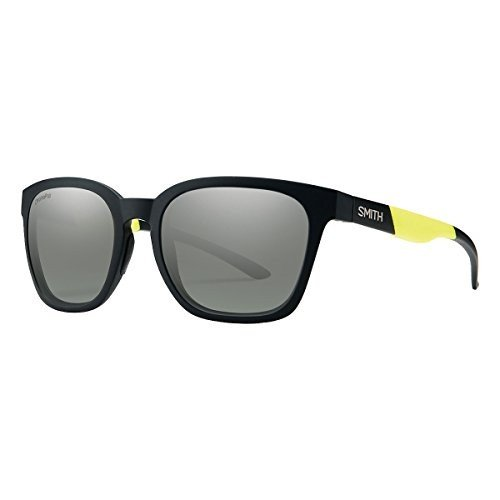 スミスSmith Founder ChromaPop Sunglasses, Matte 黒 Acid