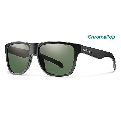 スミスSmith Lowdown XL ChromaPop Polarized Sunglasses, Matte 黒
