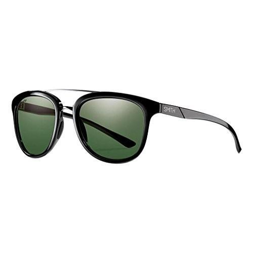 スミスSmith Optics Adult Clayton Polarized Lifestyle Sunglasses 黒/Gray 緑 Lenses