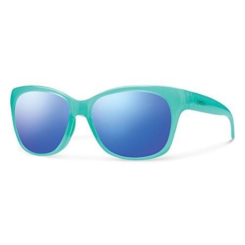 スミスSmith Optics Feature Sunglasses, Opal, 青 Flash Mirror