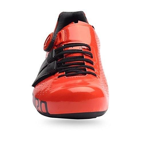 海外正規品Giro Factor Techlace Road Cycling Shoes Vermillion/Black 39