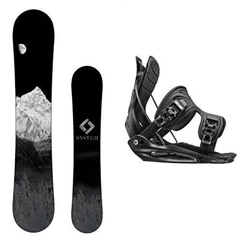 スノーボードCamp Seven Package-System MTN CRCX Snowboard-159 cm-Flow Alpha MTN Snowboard Bindings-XL