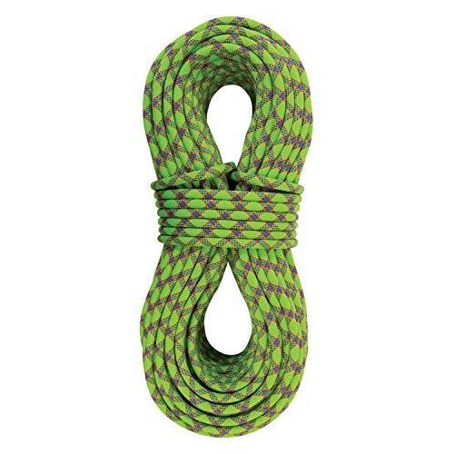 海外正規品STERLING Evolution Velocity 9.8mm Dynamic Climbing Rope - Neon Green 60m