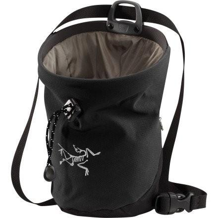 海外正規品Arc'teryx C80 Chalk Bag (黒, Large)