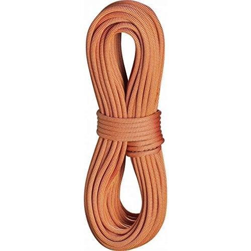 海外正規品EDELRID Boa 9.8mm Pro Dry Dynamic Climbing Rope - Glowing 赤 70m