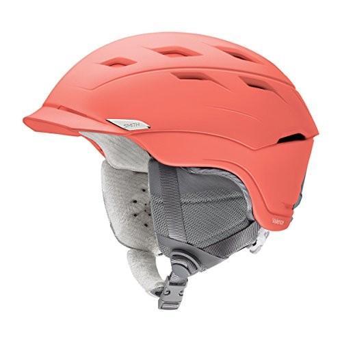 スノーボードSmith Optics Adult Valence Ski Snowmobile Helmet - Matte Sunburst/Large