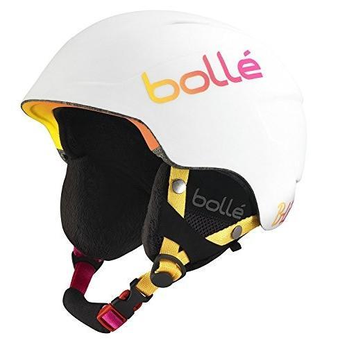 スノーボードBolle B-Lieve Helmets, Soft 白い/ピンク, 51-53 cm