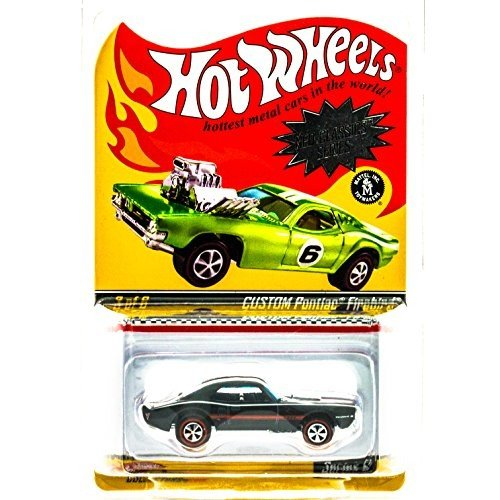 ホットウィールHot Wheels Neo-Classics Series 6 Custom Pontiac Firebird Spectraflame 黒 3/6