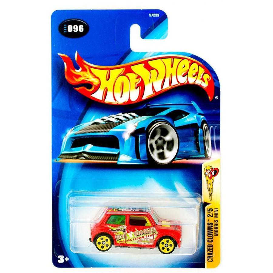 ホットウィールHot Wheels 2003 Crazed Clowns Morris Mini Cooper 2/5 #096 #96 赤 1:64 Scale