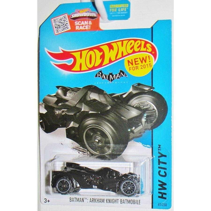 ホットウィールHot Wheels 2015 HW City Batman: Arkham Knight Batmobile 61/250, 黒