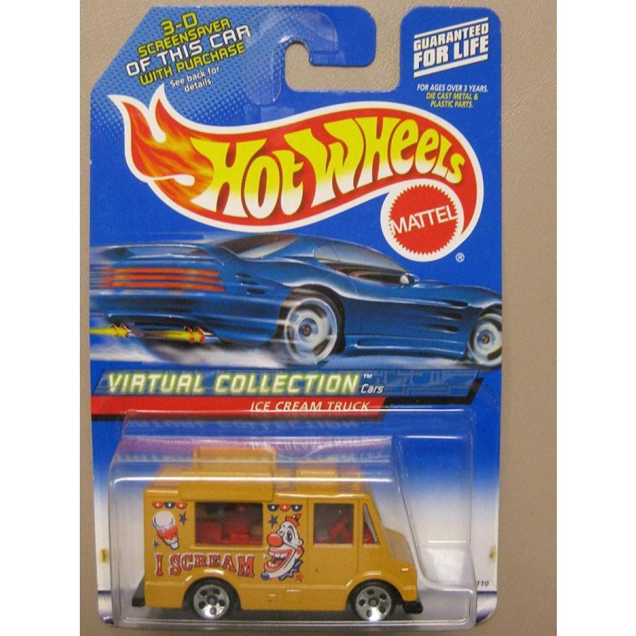 ホットウィールHot Wheels 2000 Virtual Collection #144 Ice Cream Truck