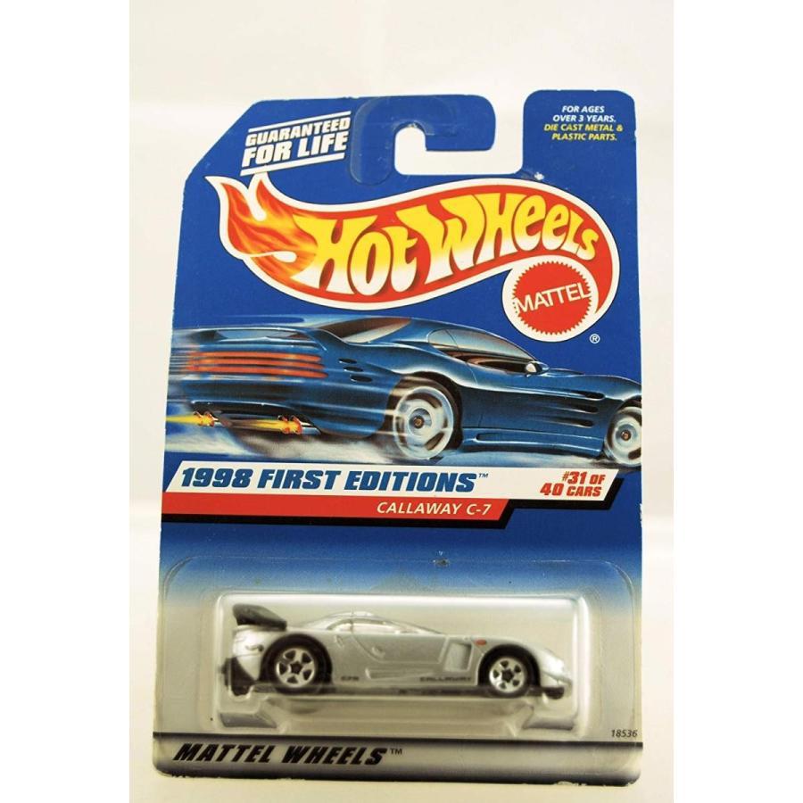 ホットウィールHot Wheels Callaway C-7 銀 1998 First Editions Series #31 of 40 Basic Car 1:64 Scale Series Collector #67