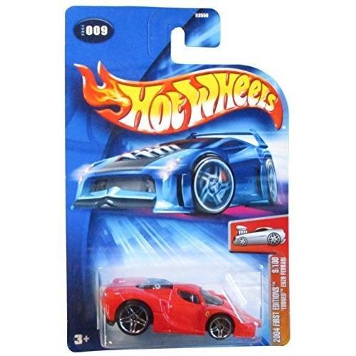 ホットウィールHot Wheels 'Tooned Enzo Ferrari First Edition 2004 #009 #9 赤 FE 9/100 1:64 Scale