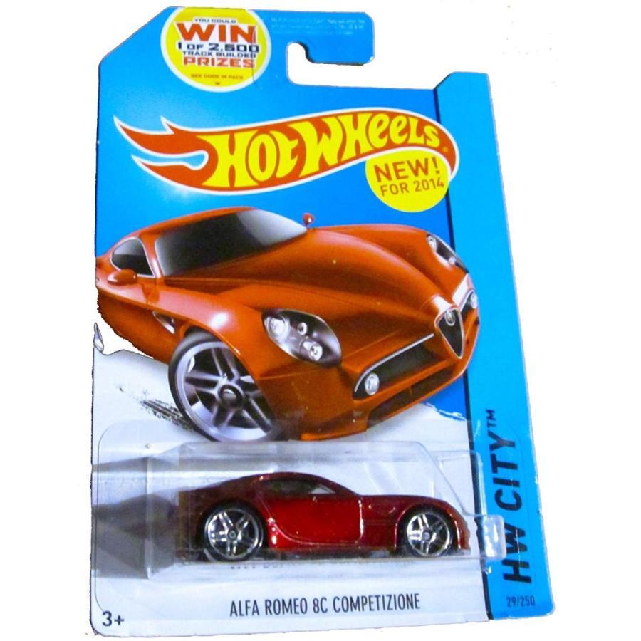ホットウィールHot Wheels HW City - 29/250 - Alfa Romeo 8C Comptetizione