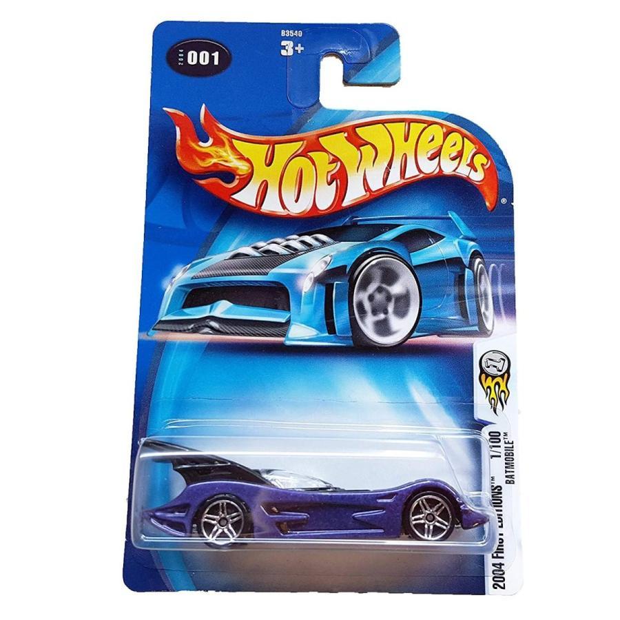 ホットウィールHot Wheels 2004 First Editions BATMOBILE #001 紫の 1:64 Scale