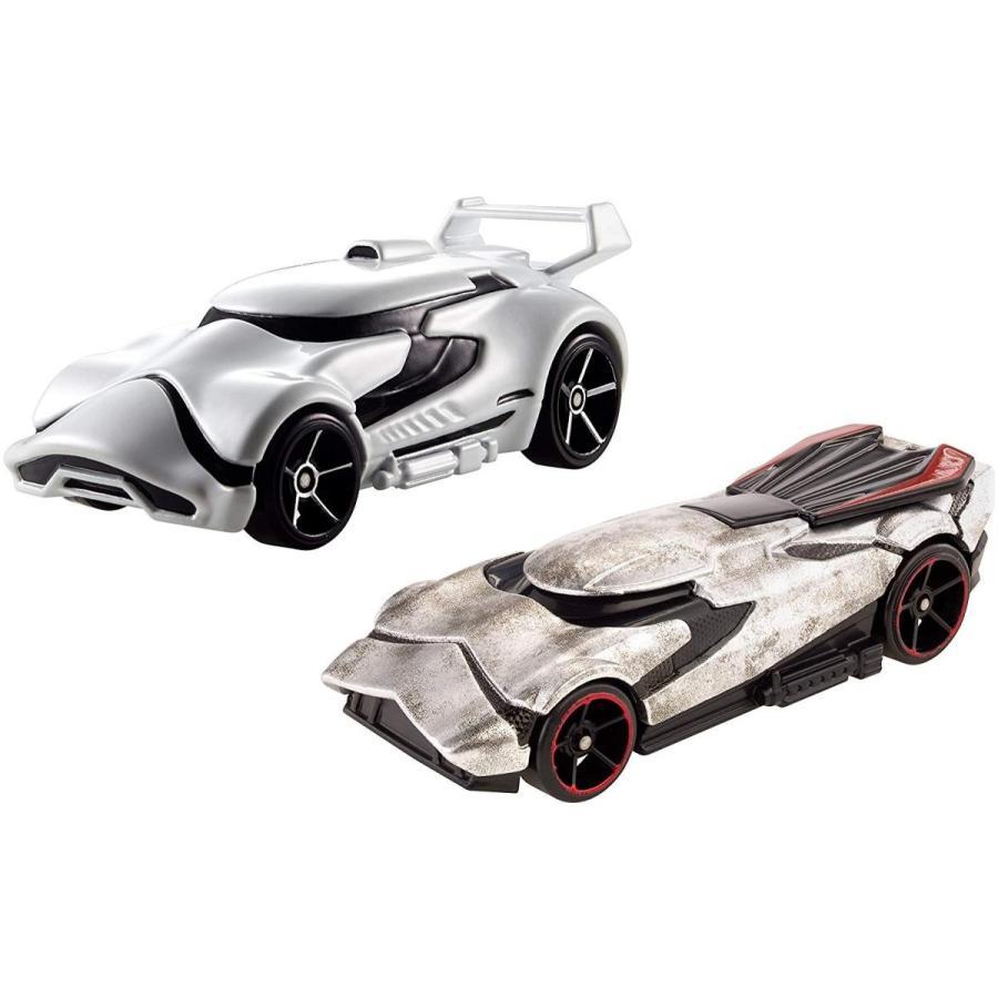 ホットウィールHot Wheels Star Wars: The Force Awakens Character Car 2-Pack, First Order Stormtrooper vs. Captain Phasma