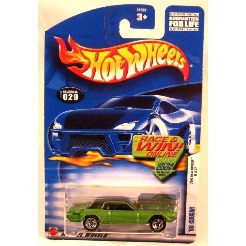 ホットウィールHot Wheels - '68 Cougar 2002 First Editions 17 of 42