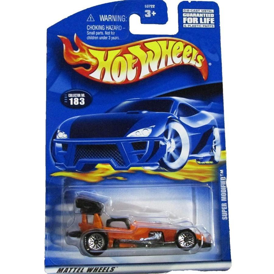 ホットウィールHot Wheels #2001-183 Super Modified Collectible Collector Car Mattel