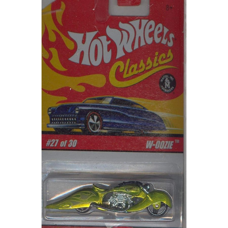 ホットウィールHot Wheels Classics Series 2 2005 27 of 30 LIME 緑 W-OOZIE 1:64 Scale Die Cast Body & Chassis Special Pain
