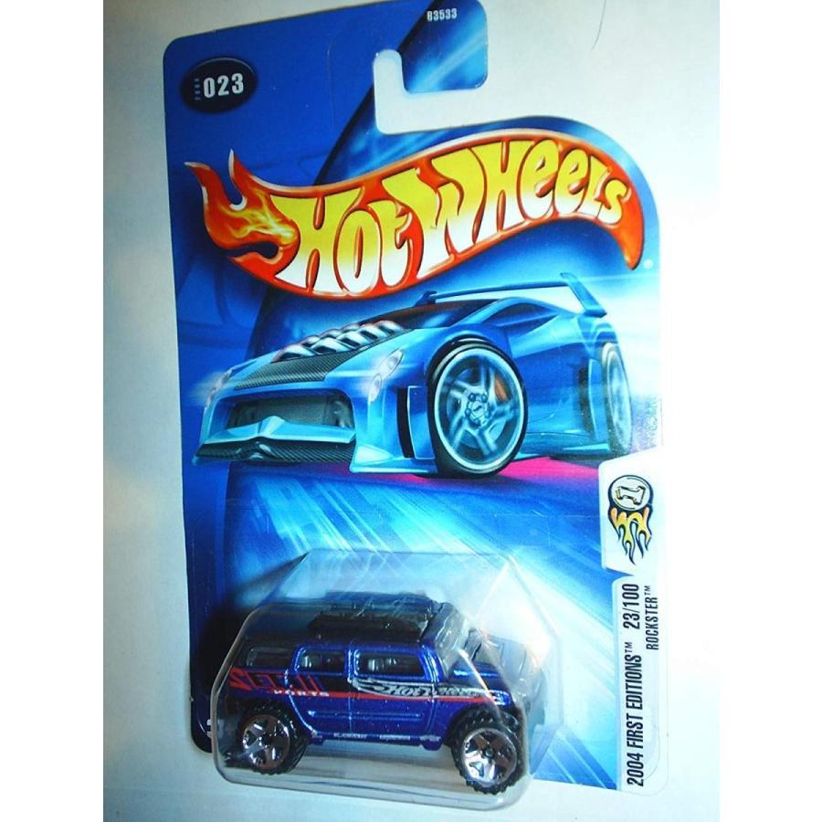 ホットウィールHot Wheels 2004 First Editions Rockster 23/100 青 023 1:64 Scale