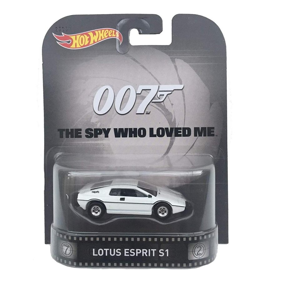 ホットウィールLotus Esprit S1 James Bond 007