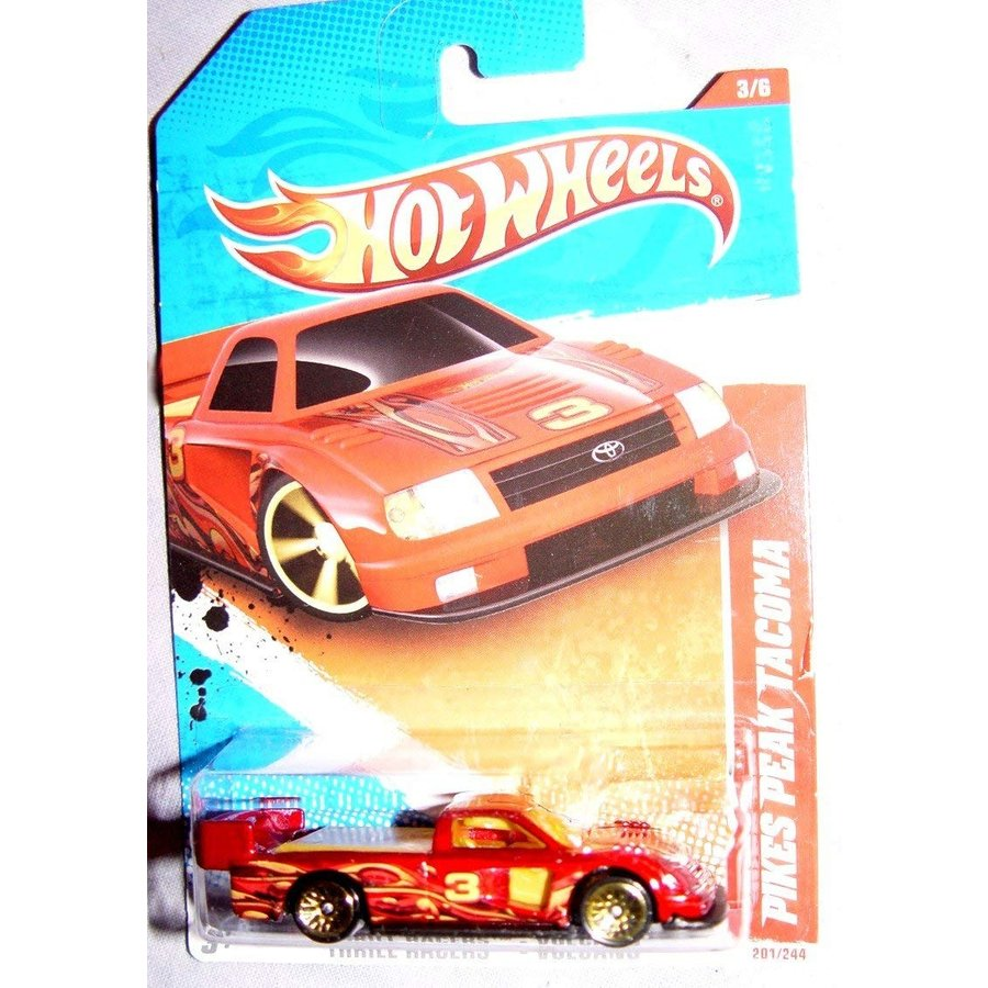 ホットウィールHot Wheels Pikes Peak Tacoma - Thrill Racers - Volcano - 3/6 - 201/244