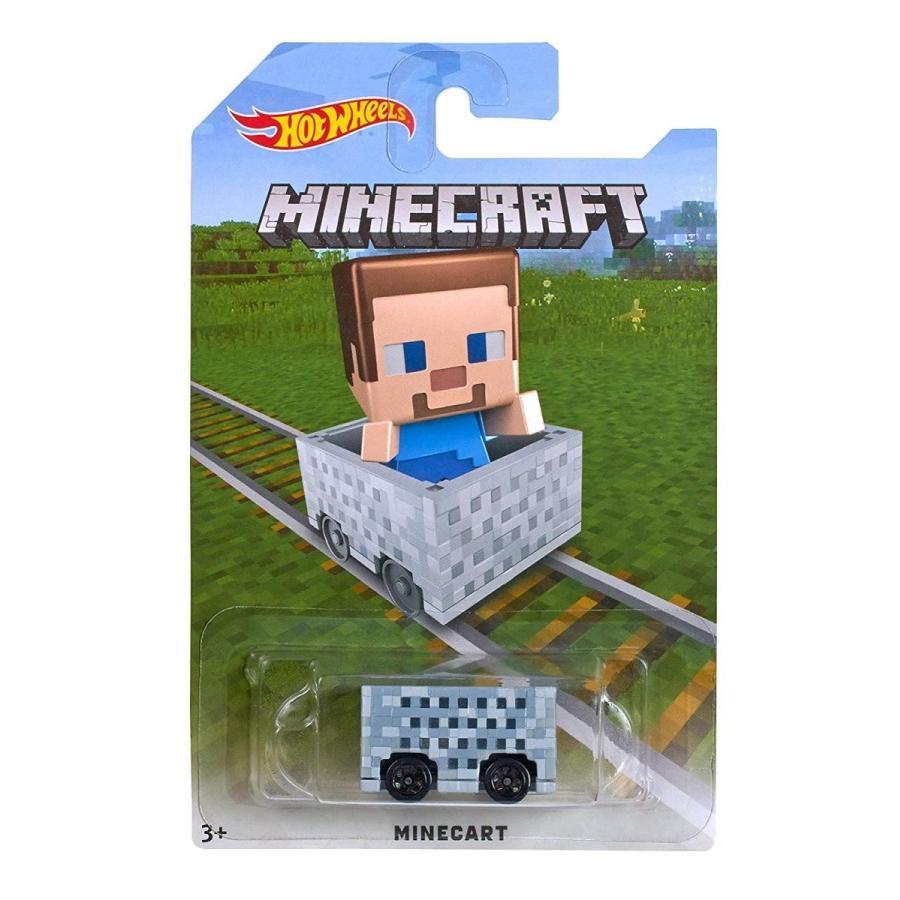 ホットウィールHot Wheels Minecraft Steve Vehicle