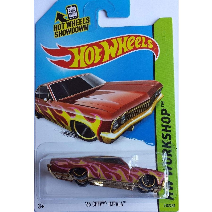 ホットウィール2014 Hot Wheels Hw Workshop - 65 Chevy Impala
