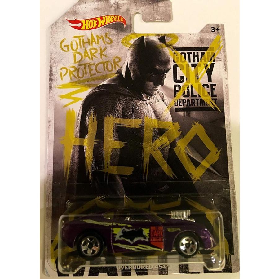 ホットウィールHot Wheels, Batman V Superman: Dawn of Justice, Overboard 454 (Gotham's Dark Protector) 8/8