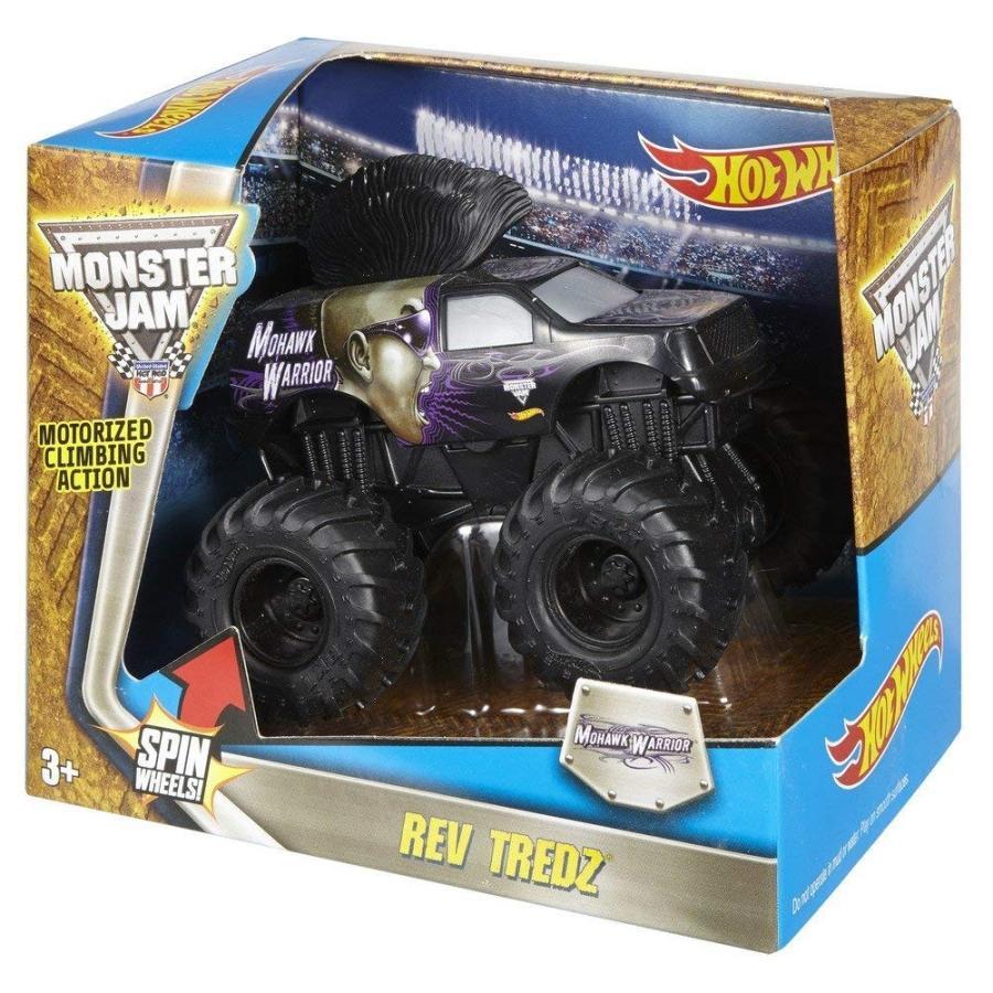 ホットウィールHot Wheels Monster Jam Rev T赤z Mohawk Warrior Die-Cast Vehicle