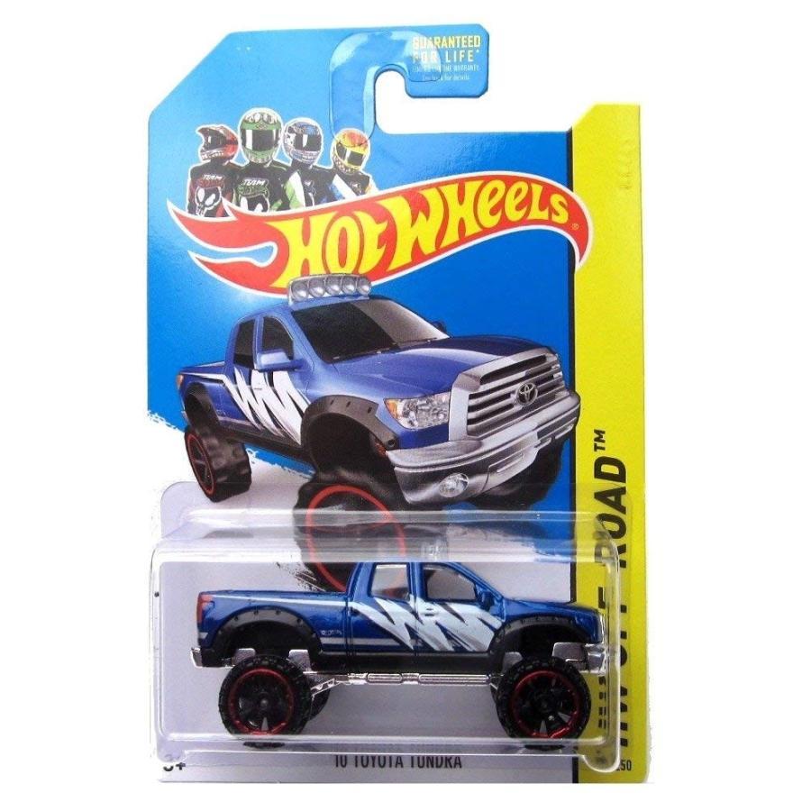 ホットウィールHot Wheels 10 Toyota Tundra 2014 131/250 (青) Vehicle HW Off-Road