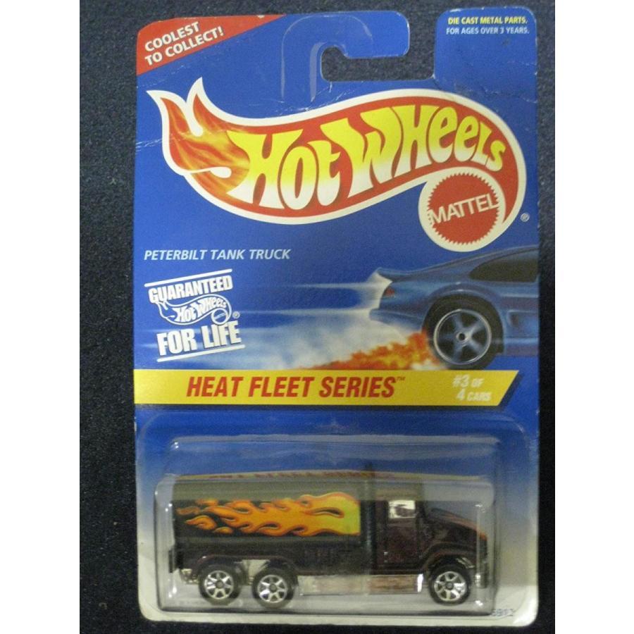 ホットウィールHot Wheels Peterbilt Tank Truck - Heat Fleet Series #3 of 4 Vehicles Collector#539