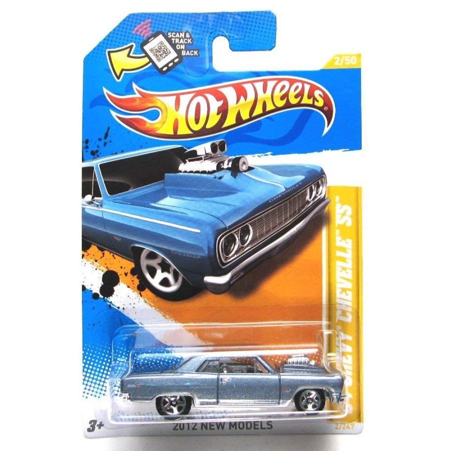 ホットウィールHot Wheels 2012 New Models '64 Chevy Chevelle SS グレー 2/247
