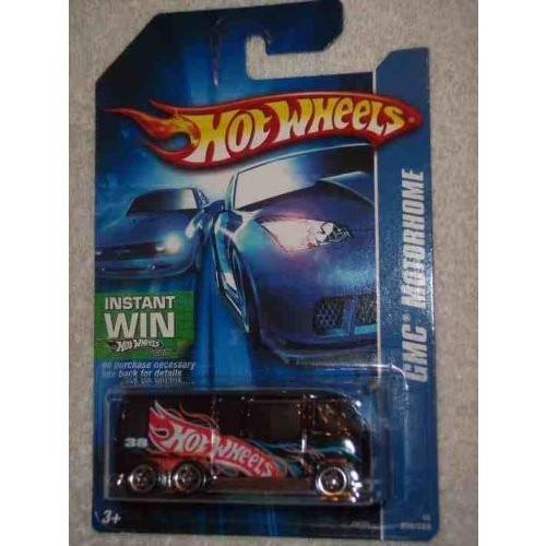ホットウィール#2006-208 GMC Motorhome 黒 5-Spoke Wheels 07 Card Collectible Collector Car Mattel Hot Wheels 1:64 Scale