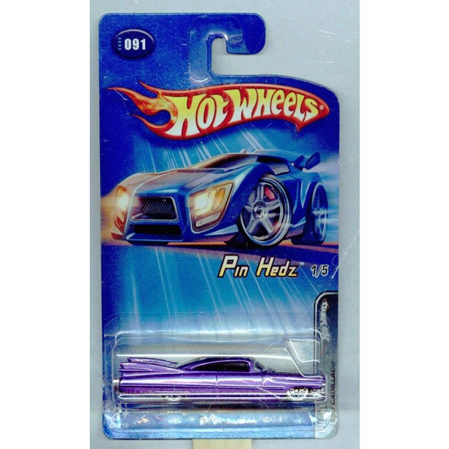 ホットウィールHot Wheels 2005-091 紫の Pin Hedz 1/5 1959 CadIllac MALAYSIA 1:64 Scale