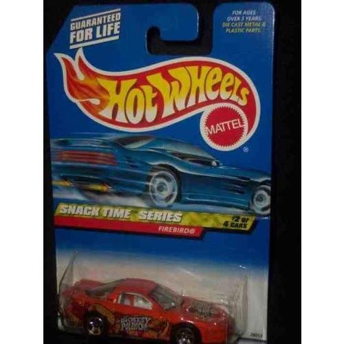 ホットウィールSnack Time Series #2 Firebird #2000-14 Collectible Collector Car Mattel Hot Wheels 1:64 Scale