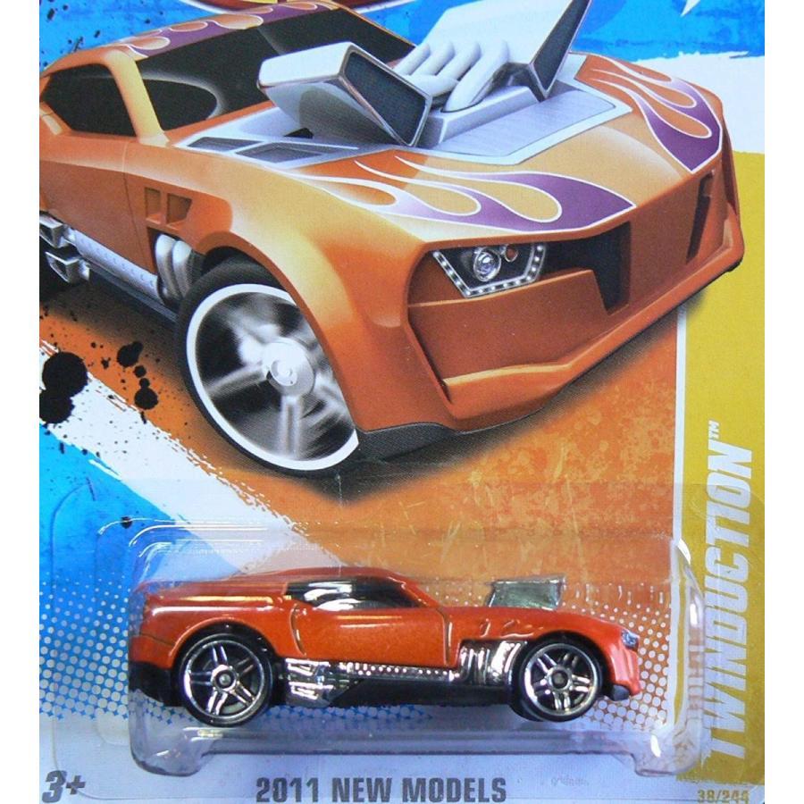 ホットウィール2011 Twinduction オレンジ Hot Wheels Collectible - 2011 New Models Series - 38/244