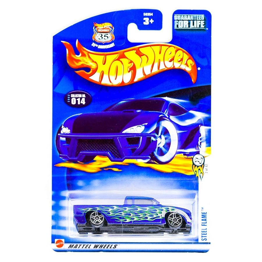 ホットウィールHotwheels ~ Steel Flame #2 of 42 # 014 35th Annive