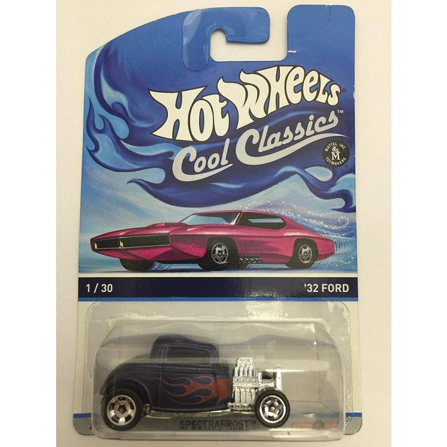 ホットウィールHot Wheels Cool Classics '32 Ford 1/30 Spectrafrost