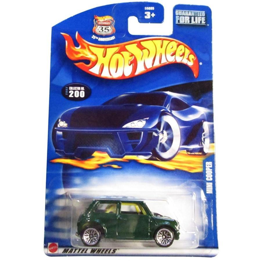 ホットウィールHot Wheels 2002 Mini Cooper #200 緑 1:64 Scale