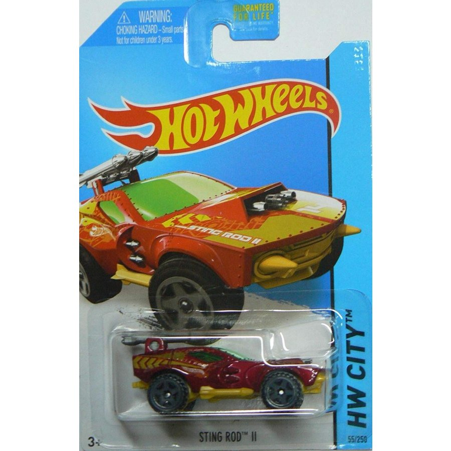 ホットウィールHot Wheels 2014 Hw City Street Beasts Sting Rod II 55/250