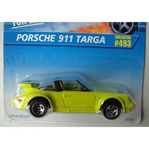 ホットウィールHOT WHEELS 黄 PORSCHE 911 TARGA #493